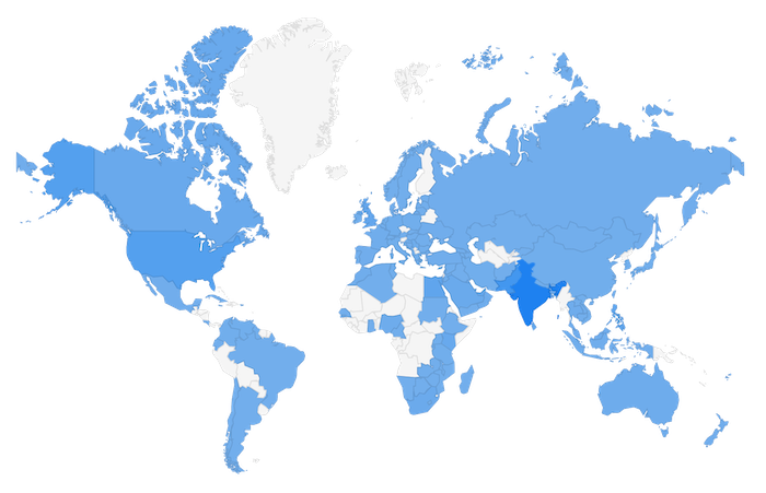 Global presence in 125+ countries